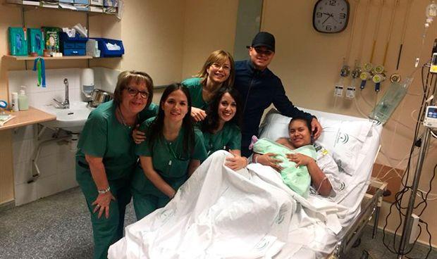 Nace el primer bebé en el Campus de la Salud de Granada
