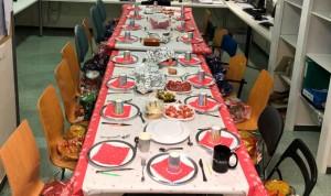 """Navidad en el hospital: """"Cenamos con nuestra segunda familia"""""""