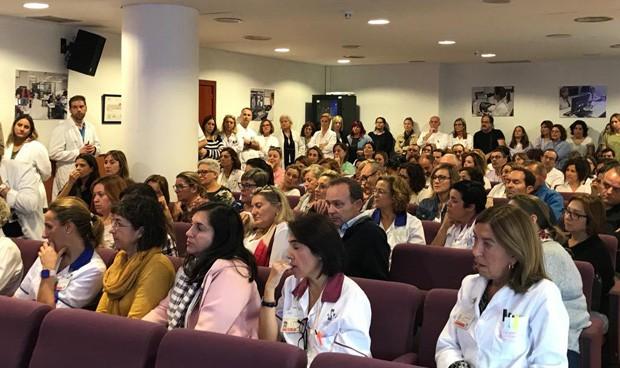 Nerviosismo e indignación en la cita 'multisindical' en La Ribera
