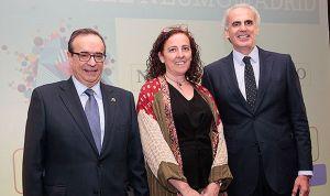 Neumomadrid premia a Germán Peces-Barba como el neumólogo del año