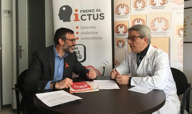 Neurología firma un convenio para sensibilizar y concienciar sobre el ictus