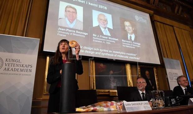 Nobel de Química a las 'nanomoléculas' artificiales con utilidad médica