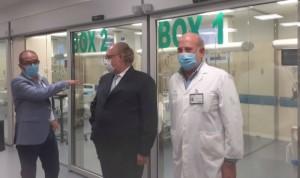 La nueva reforma del Hospital de Osuna incluye circuitos 'Covid/No-Covid'
