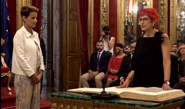Nuevo Gobierno navarro: Induráin promete en Salud y Chivite marca objetivos