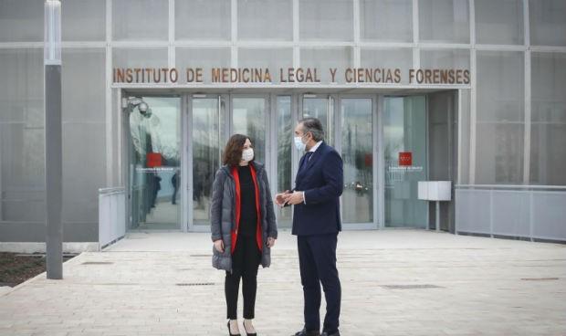 """El nuevo Instituto de Medicina Legal """"es un orgullo para España y Europa"""""""