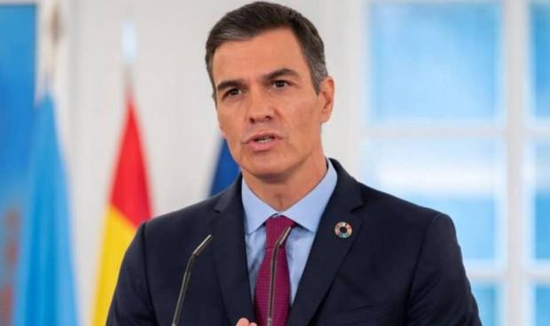 """Sánchez da por cumplido el objetivo de vacunación: """"El ritmo es prometedor"""""""
