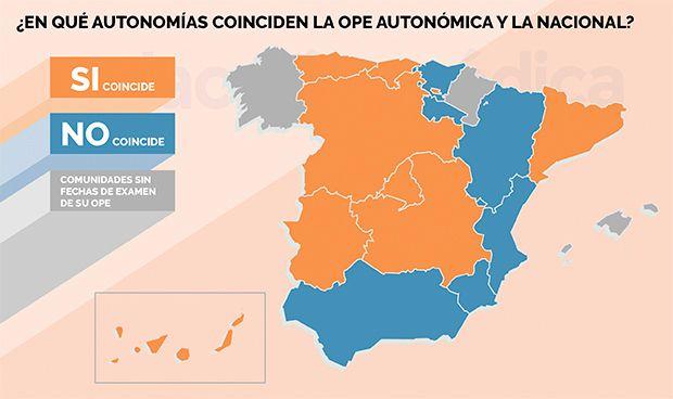 Ocho CCAA complican a sus sanitarios simultanear OPE autonómica y nacional