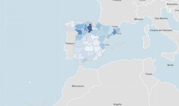 'Ola joven' en toda España y una provincia con incidencia superior a 1.000
