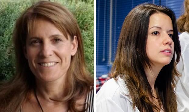 Olga Arroyo y Marta Supervía