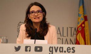 Oltra no cree que la intervención de Puig en el IVO desautorice a Montón