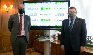 La ONCE y Miranza colaborarán para una mejor asistencia oftalmológica