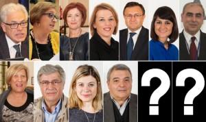 Once 'batas blancas' como cabezas de lista del PSOE, dos menos que el 20-D