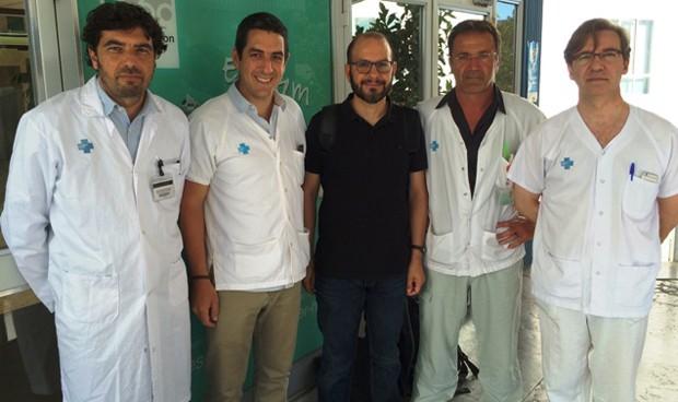 Operación pionera preserva la movilidad de un paciente con tumor sinovial