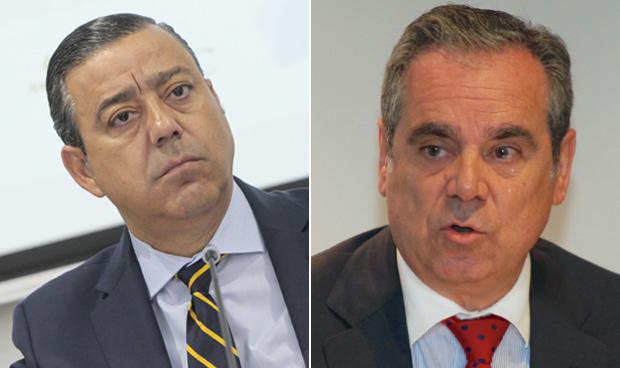 Óscar Castro y Jesús Aguilar