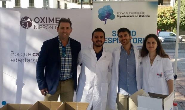 Oximesa y la Universidad de Granada forman en enfermedades respiratorias