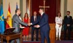 Pablo Fernández Muñiz toma posesión como consejero de Sanidad de Asturias
