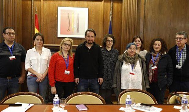 """Pablo Iglesias sobre la dependencia: """"Es una auténtica vergüenza nacional"""""""