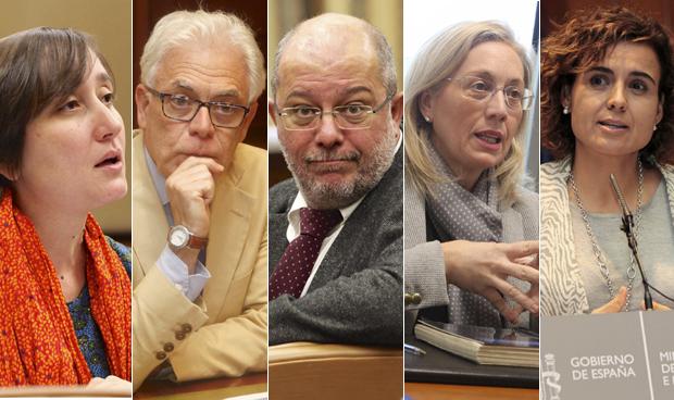 Pacto de cortes�a entre ministra y portavoces de Sanidad del Congreso