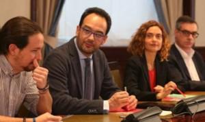 Pacto PSOE-C's-Podemos: acuerdo en copago, ruptura por gasto sanitario