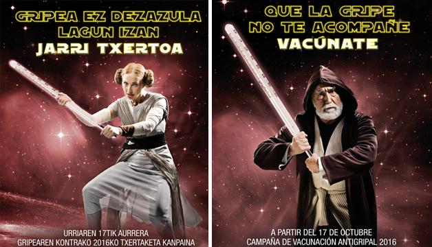 País Vasco congrega al universo Star Wars a luchar contra la gripe