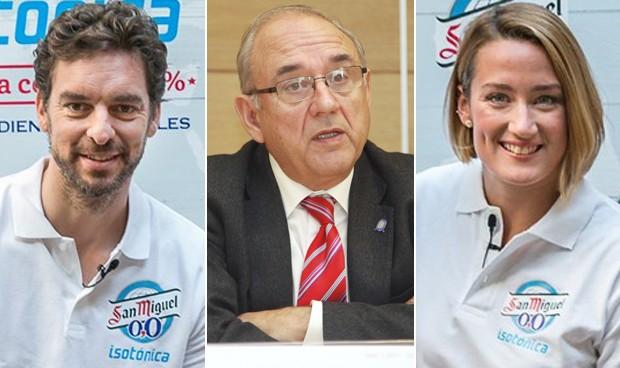 Pau Gasol y Mireia Belmonte promocionan hábitos no saludables, según la OMC