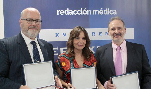 Pedro Alsina, Amelia Amezcua y Raúl Piedra, accésits del Premio Reflexiones