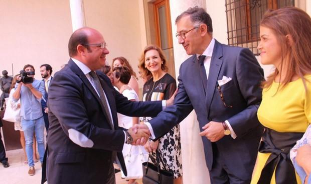 """Pedro Antonio Sánchez: """"Los farmacéuticos son socios imprescindibles"""""""