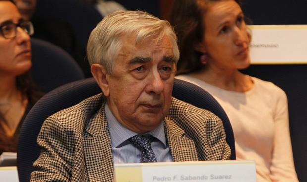 Pedro Sabando dimite como presidente del Consejo Asesor de Sanidad
