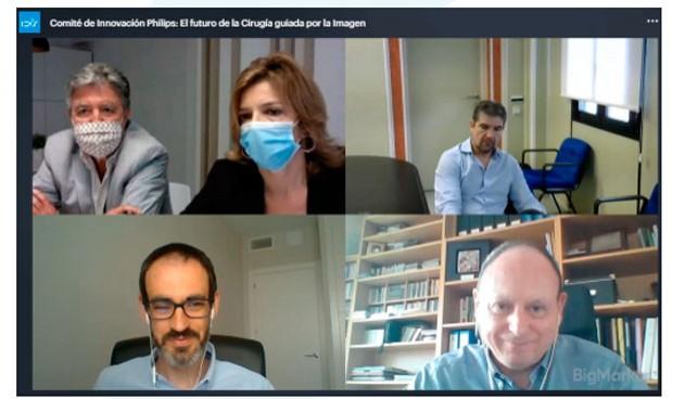 Philips presenta la impresión 3D en cirugía al Comité de Innovación de IDIS