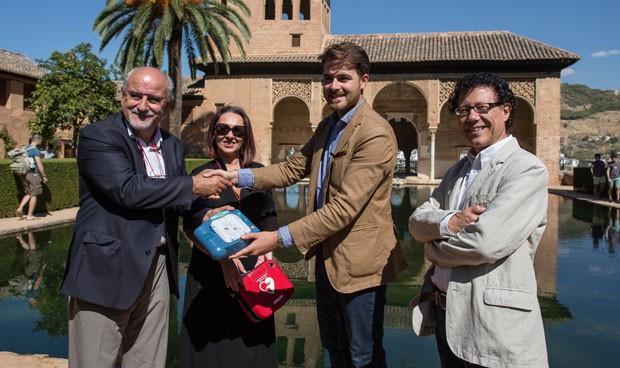 Philips y España Salud completan la cardioprotección de la Alhambra