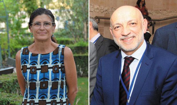 Pilar Aparicio y Rodrigo Gutiérrez