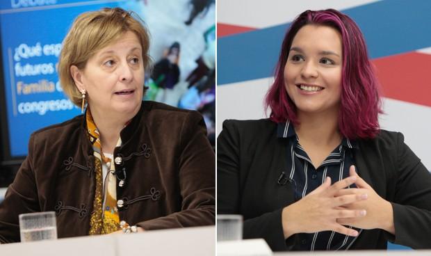 Pilar Rodríguez y Sara Figueroa
