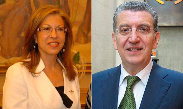 Pilar Ventura y Sebastián Celaya