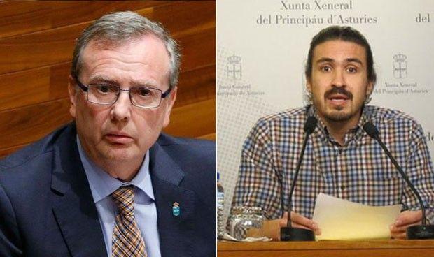 Podemos cumple su palabra y reprobará a Del Busto en el pleno asturiano