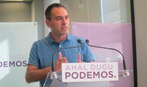 """Podemos denuncia el """"hedor"""" del clientelismo del PNV en la sanidad vasca"""