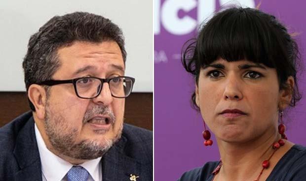 Polémica por la atención médica de Vox a Teresa Rodríguez en San Telmo