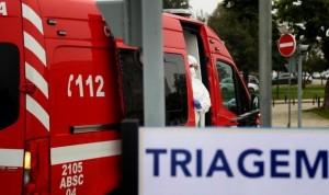 Portugal, al borde del colapso: registra más de 900 casos covid en las UCI