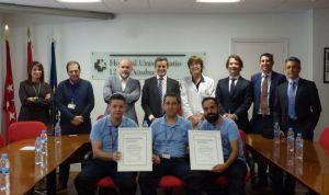 Premio de Excelencia al 12 de Octubre por la gestión de gases medicinales