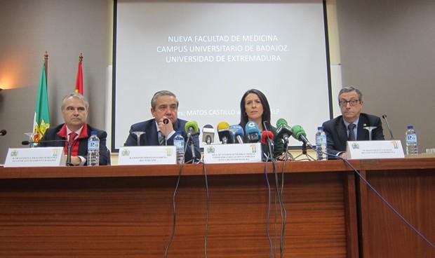 Presupuesto de 18 millones para la nueva facultad de Medicina de Badajoz