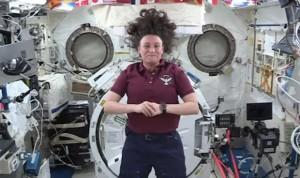 Primer caso de riesgo médico desconocido tratado en el espacio por la NASA