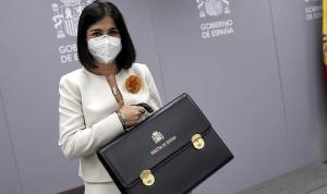 El primer día de Darias como ministra de Sanidad, en imágenes
