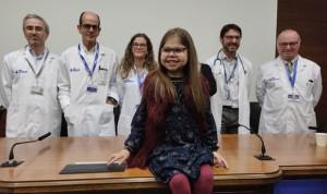 Primer triple trasplante a una paciente pediátrica en la sanidad española