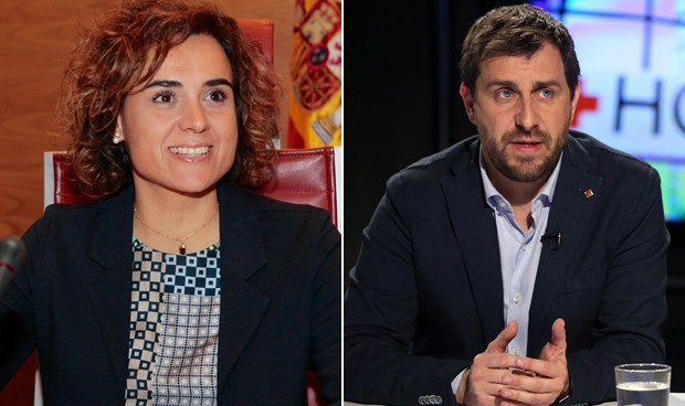 Primera cita al máximo nivel entre Dolors Montserrat y Antoni Comín