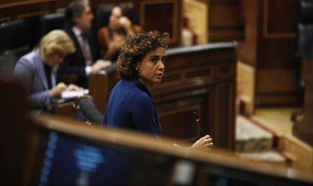 Primera reacción 'en funciones' de Montserrat tras su adiós a Sanidad