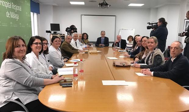 Primera reunión para definir el modelo hospitalario de Málaga