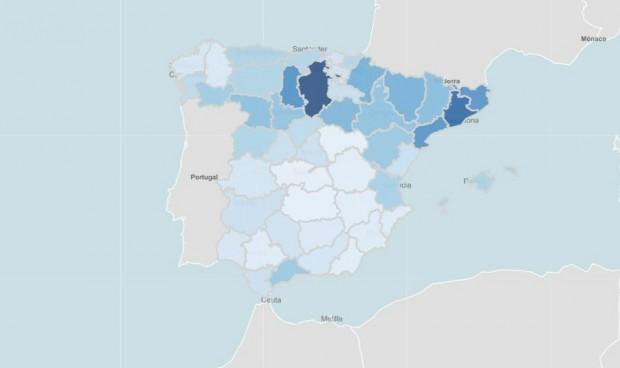 Primeras cuatro provincias que 'frenan' la expansión de la quinta ola Covid