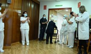 Las primeras vacunaciones contra el Covid-19 de España, en imágenes