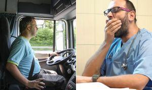 Propuesta para que el médico descanse de forma obligada como los camioneros