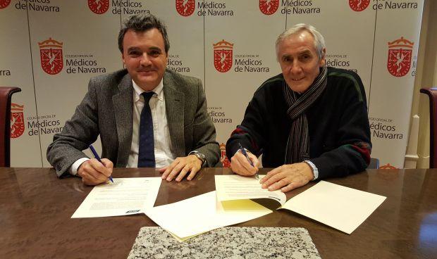 PSN amplía los servicios de los inscritos del Colegio de Médicos de Navarra