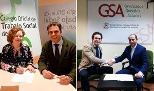 PSN firma acuerdos en Asturias con Trabajo Social y Graduados Sociales